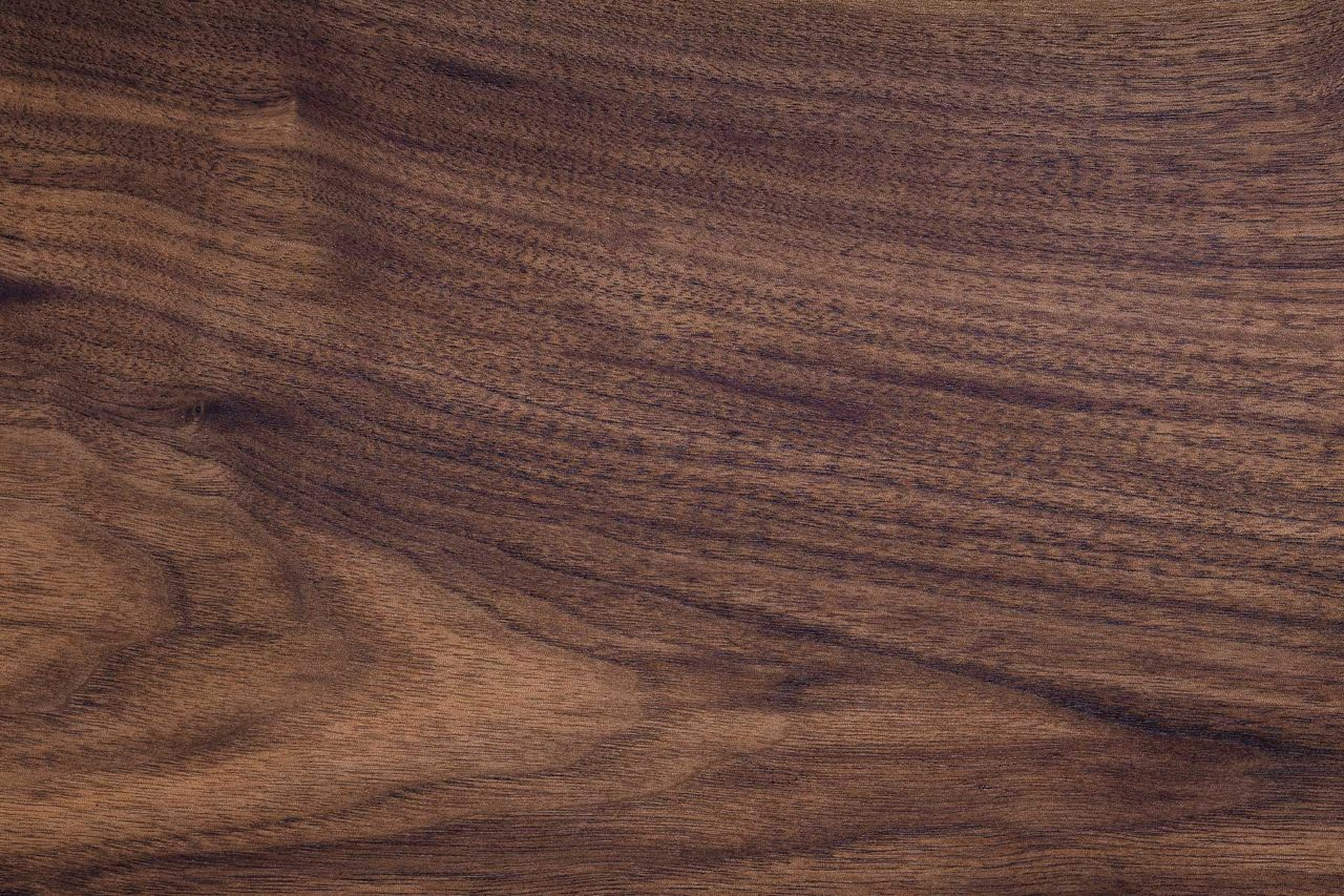 SENTIENT Solid American Black Walnut, available in matte, satin and glossy finishes.